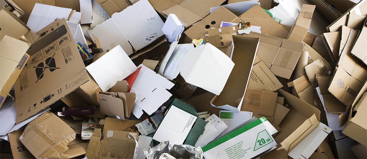 Traiter le carton dans nos presses et compacteurs
