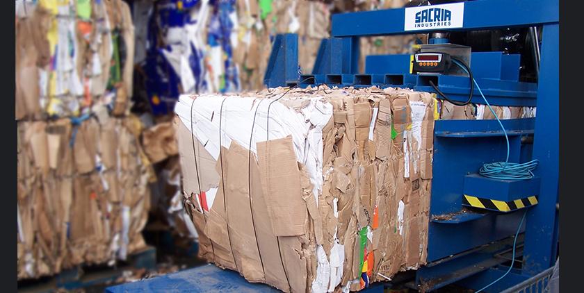 compactage des déchets - Sacria