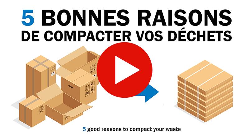 compactage des déchets
