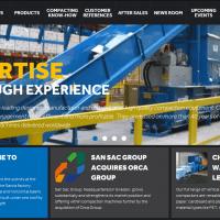 Sacria website startpage image