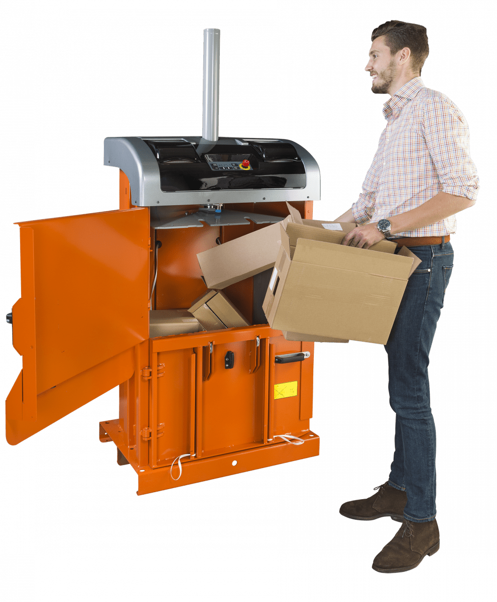 presse dechet carton Orwak Compact