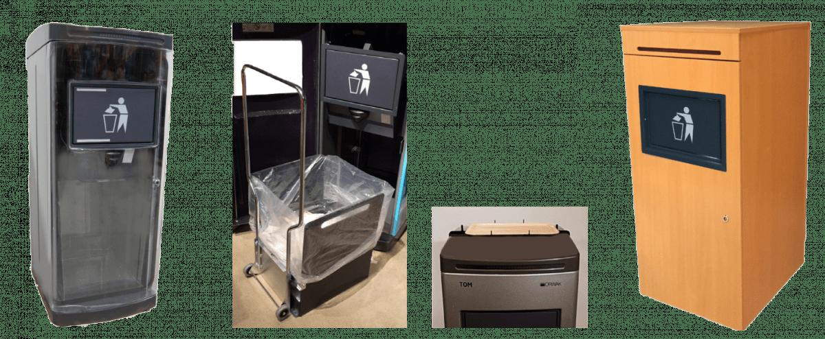 compacteur déchets TOM : options
