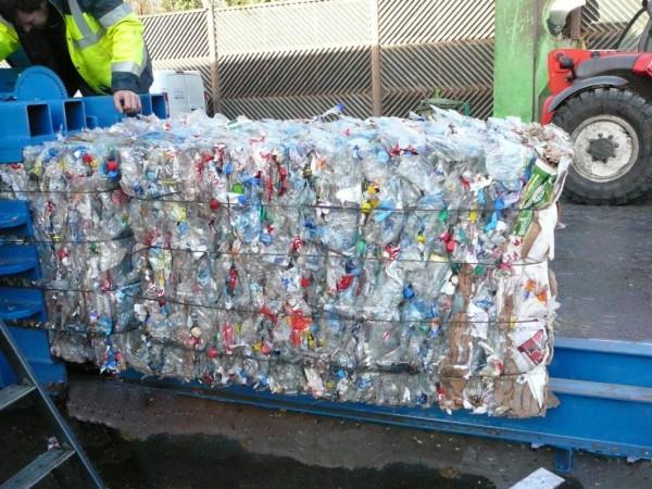 presse à déchets mélangés